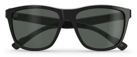 Black Gloss / P-3 Gray Glass Polarized